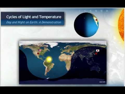 Day and Night on Earth   YouTube
