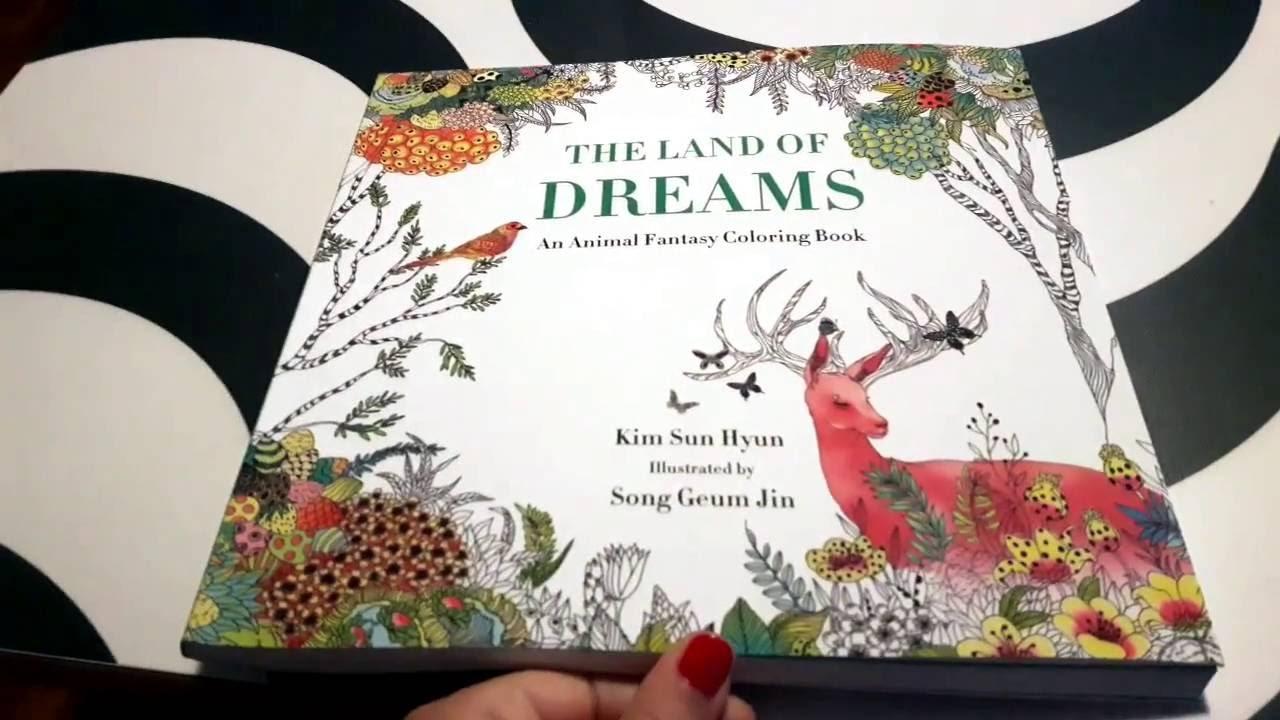 Land of Dreams Coloring Book - Flip Through - YouTube