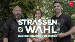 STRASSENWAHL Eps 3   Bushido vs. Beatrix von Storch