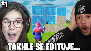 UČÍM YOUTUBERY FORTNITE #1 | PORTY