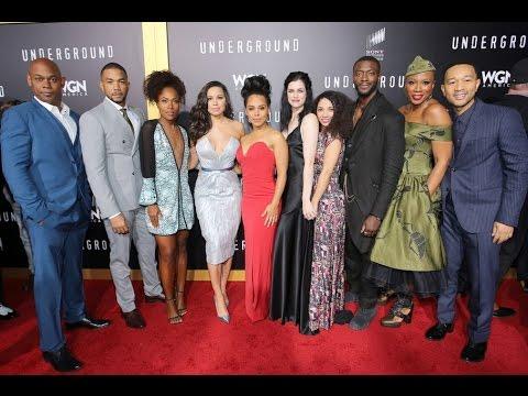 """WGN America's """"Underground"""" Season 2 World Premiere - 2/28"""