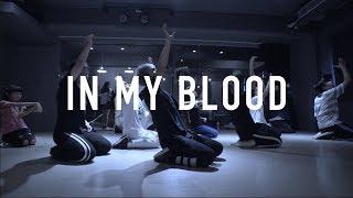 懷恩 Lyrical Choreography @ Shawn Mendes - In My Blood / Choreograph by 懷恩