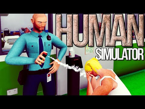 I Got Hired As Security Guard & Abuse My Authority In Human Simulator