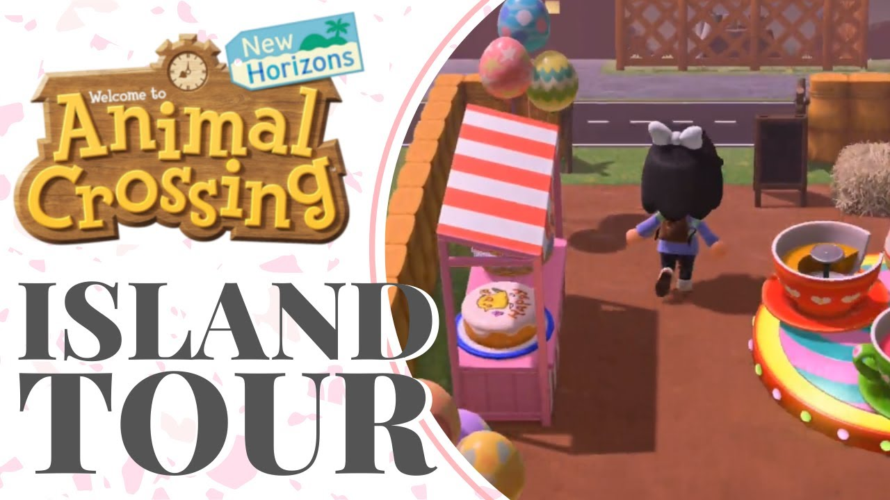 Updated CUTE island tour | Ideas for your island | Animal ...