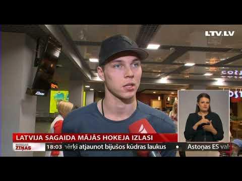 Latvija sagaida mājās hokeja izlasi