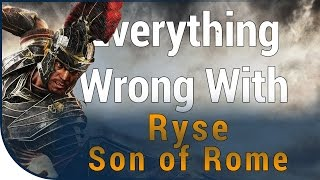 GAME SINS | Everything Wrong With Ryse: Son of Rome In Fourteen Minutes