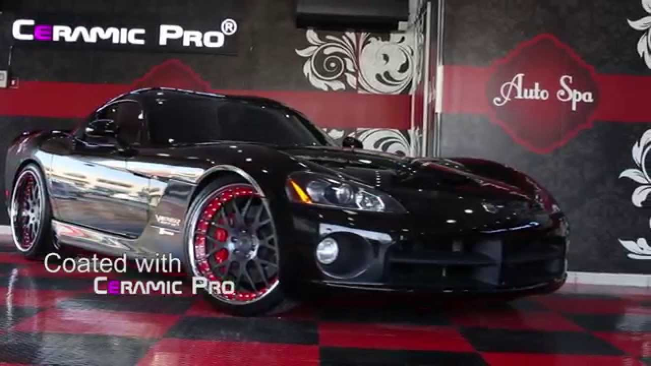 Dodge Viper From Fast Amp Furious 7 Ceramic Pro Applied