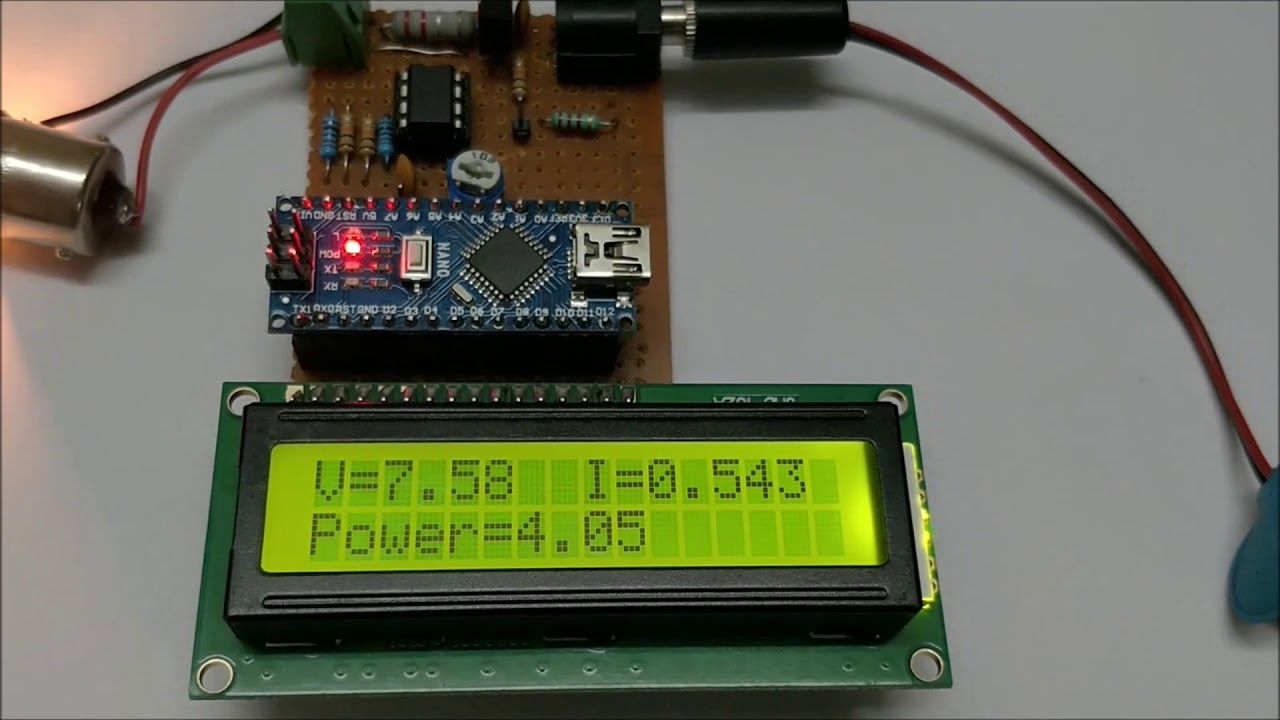 Nano Current Voltage Monitor