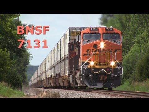 BNSF 7131 East, a GE ES44C4, on 8-4-2013