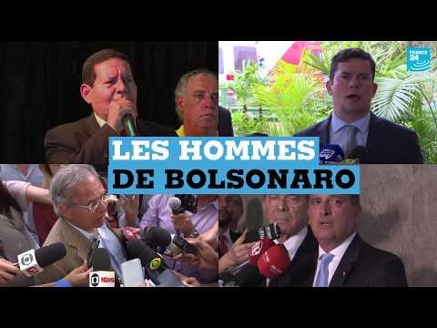 Brésil : les hommes du président Bolsonaro