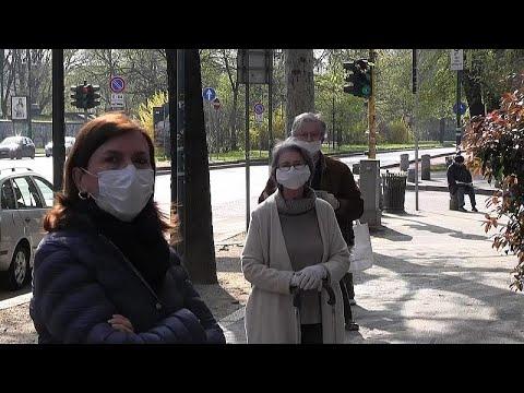 Covid-19: İtalya'nın Lombardia bölgesinde artık insanlar sokağa maskesiz çıkamayacak