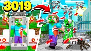 TIME TRAVELING TO THE FUTURE IN MINECRAFT!