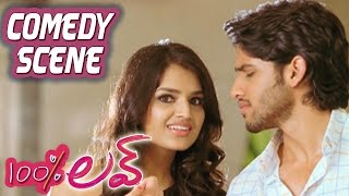 Naga Chaitanya Introducing Tara Alisha To Tamannah | 100 Percent Love | Comedy Scene