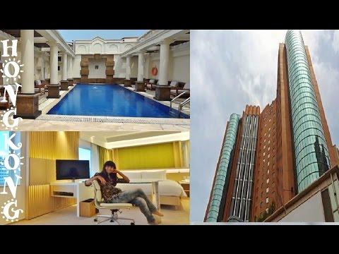 Hong Kong, My Room at Eaton Hotel, Kowloon