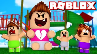 I'M ROBLOX'S BIGEST BABY ? Cerso roblox simulator in Spanish