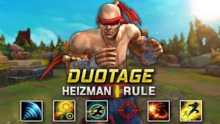 THE CRAZIEST LEE SIN MONTAGE OF ALL TIME | HEIZMAN AND RULE DUOTAGE - League of Legends