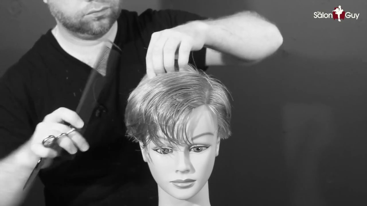 Charlize Theron Haircut Tutorial Thesalonguy Youtube