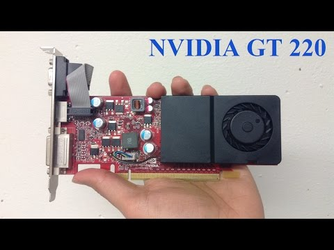 Restoring An Nvidia GeForce GT 220