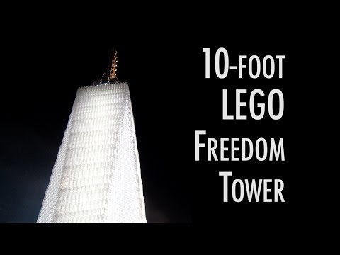 LEGO One World Trade Center | Museum of Science and Industry