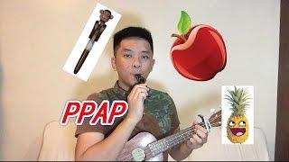 PPAP ペンパイナッポーアッポーペンピコ  (Pen-Pineapple-Apple-Pen) PIKO-TARO [ukulele cover]