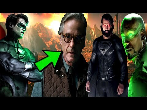 Justice  League NEWS TWO Green Lanterns CONFIRMED To APPEAR? And Man Of Steel 2 News!!!