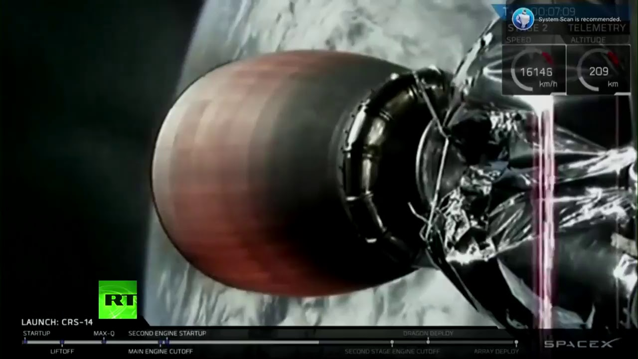 SpaceX launches Dragon cargo carrier to ISS (STREAMED LIVE)