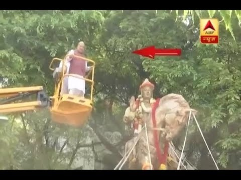 Bengaluru: BJP Chief Amit Shah Pays Tribute to Lingayat Philosopher Basaveshwara   ABP News