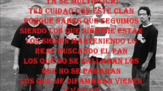 Letra de Vienen y Van - Warrior (Rapper School)