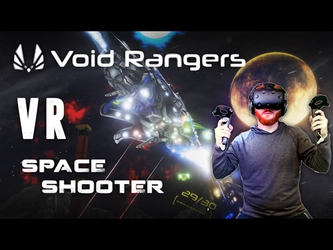 Void Rangers: VR shooter game with progression and Borderlands style random loot