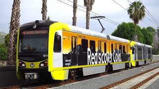 Metro Gold Line - New Light Rail Car Now in service
