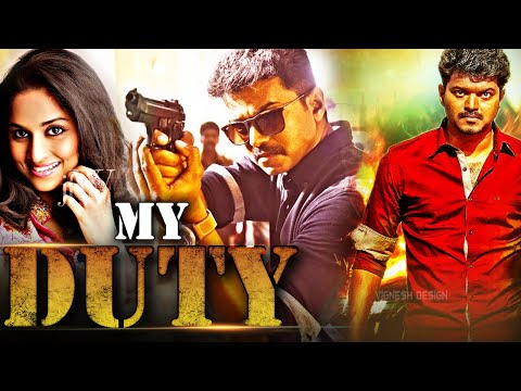 My Duty (Kannukkul Nilavu)   2018 New Released Hindi Dubbed Movie   South Movie   Vijay