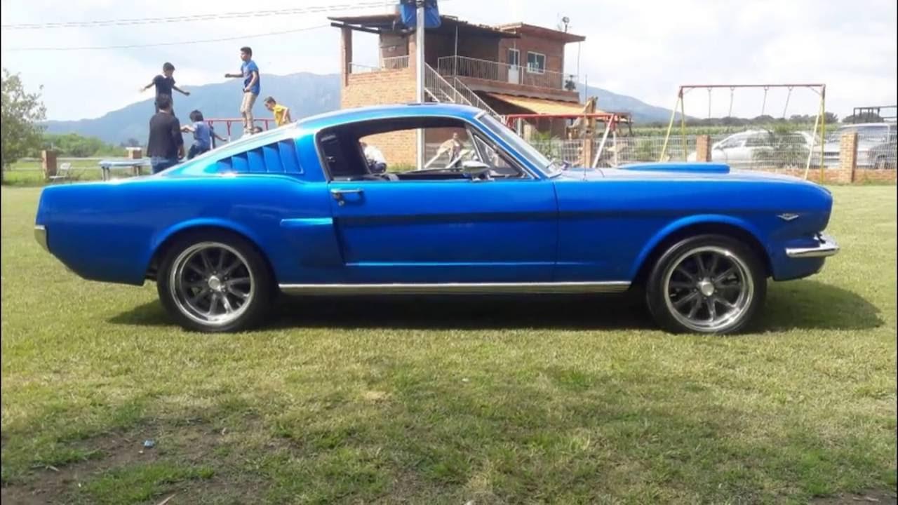 Mustang fastback 65 destape