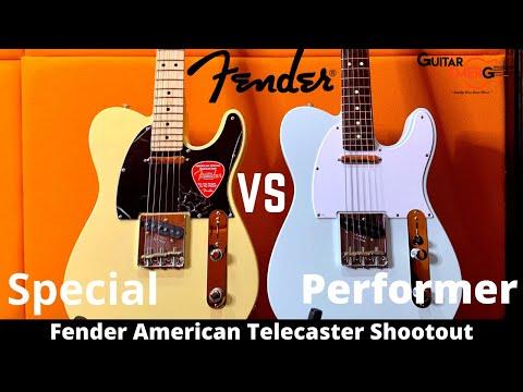 Fender American Performer Telecaster VS Fender American Special Telecaster