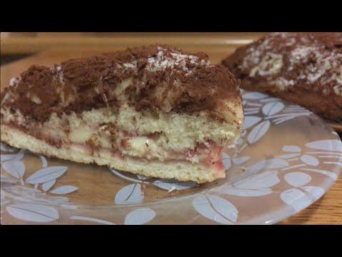 Торт рецепт с заварным кремом