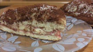 Как сделать бисквитный торт? Рецепт очень вкусного бисквитного торта с заварным кремом!