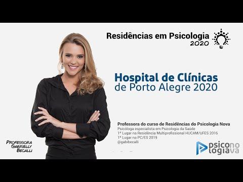 Residência Em Psicologia - Hospital De Clínicas De Porto Alegre 2020