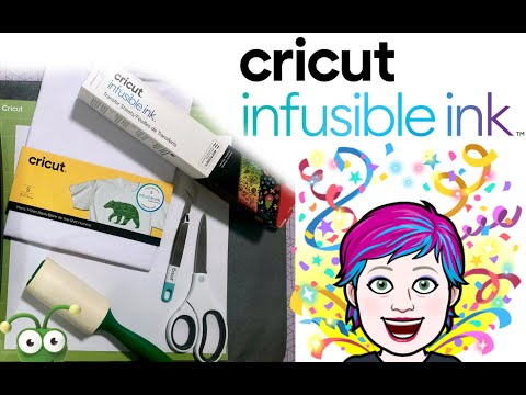 Cricut Infusible Ink On A Cricut T-Shirt