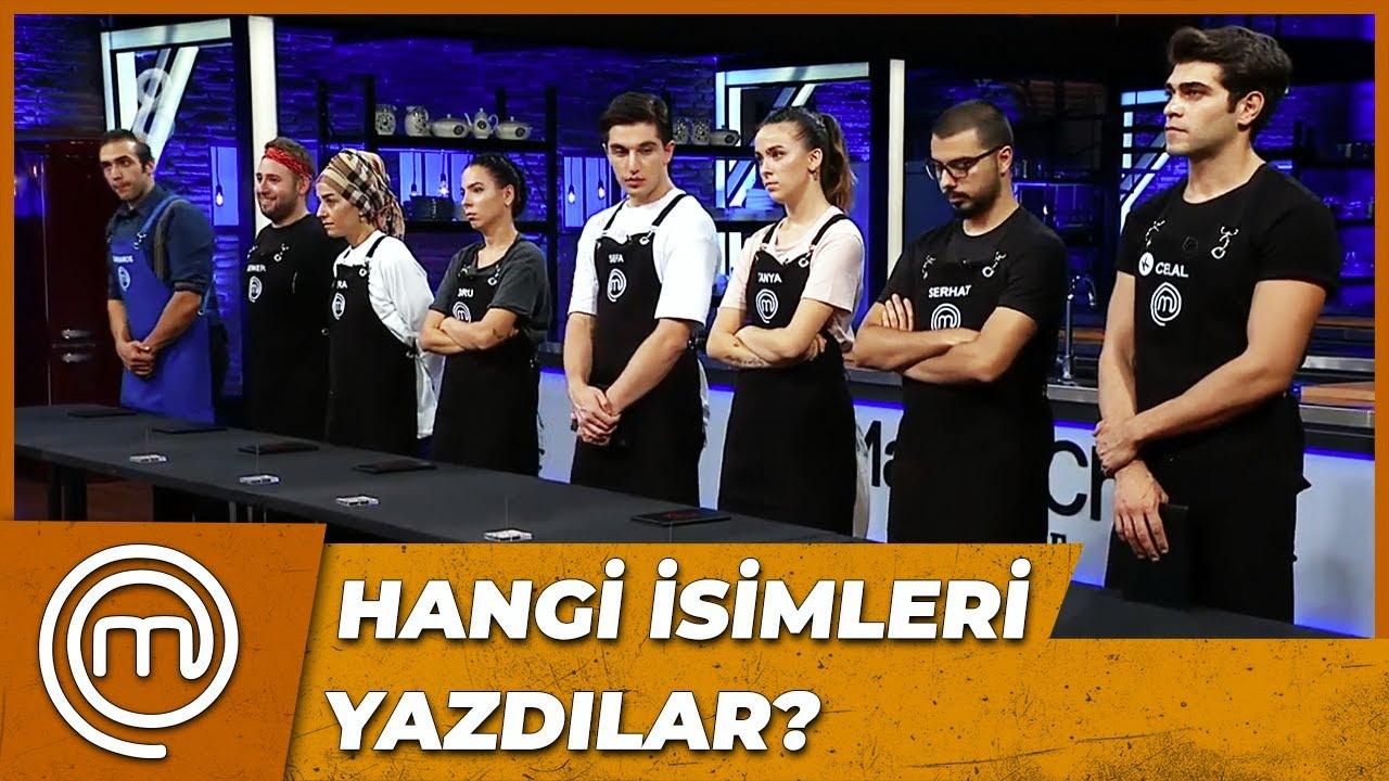 ELEME ADAYLARI HANGİ İSİMLER OLDU?   MasterChef Türkiye 44. Bölüm