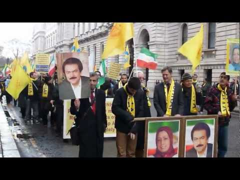 supporters of the People's Mojahedin in London 2