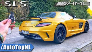 Mercedes SLS AMG BLACK SERIES | REVIEW POV on AUTOBAHN (NO Speed limit!) by AutoTopNL