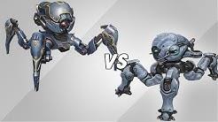 Invader vs Weyland (Arañas/Spiders) AnakinTEST #43 | War Robots