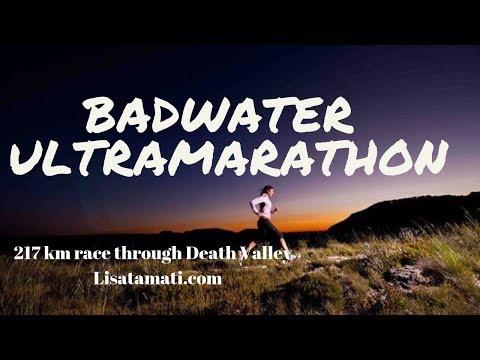 The Badwater Ultramarathon - 217km through Death Valley - Running adventure