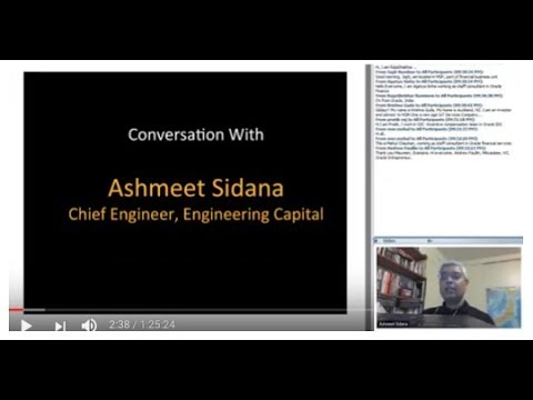 376th 1Mby1M Roundtable November 16, 2017: With Ashmeet Sidana, Engineering Capital
