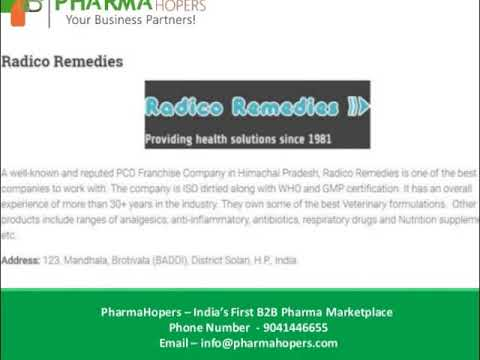 Top 10 PCD Pharma Companies in Himachal | Pharma Franchise