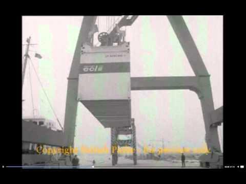 First carriers Tilbury Docks 1968