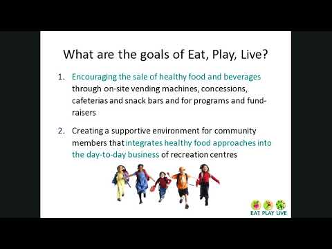2017 09 27 Healthy Food in Recreation Centres