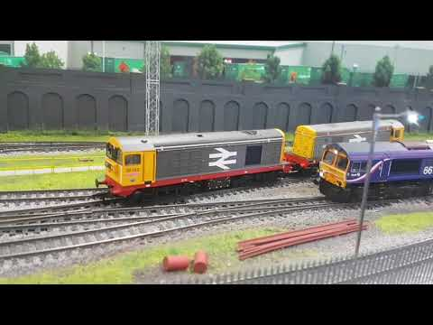 Model railway expedition