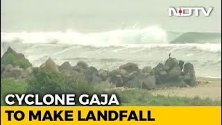 Cyclone Gaja To Make Landfall Today; Puducherry, Tamil Nadu On High Alert
