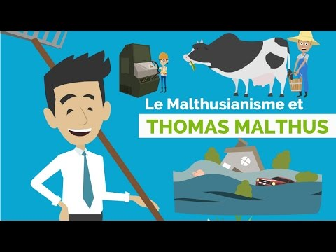 What are the philosophies and major works of Thomas Malthus, please answer!?