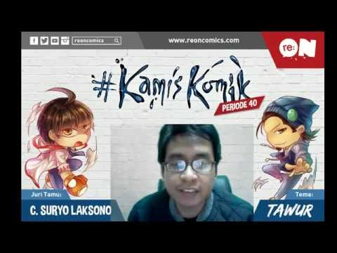 Live Streaming re:ON Comics 1 September 2016 - #KamisKomik (Tawur) by C. Suryo Laksono